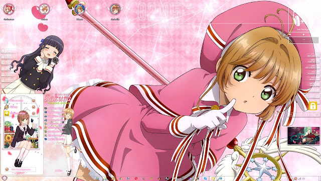 Cardcaptor Sakura: Clear Card-hen Theme Win 7 by Andrea_37