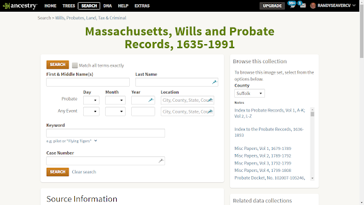 You Should Browse Probate Records on Ancestry.com - Don't Rely on Only the Index