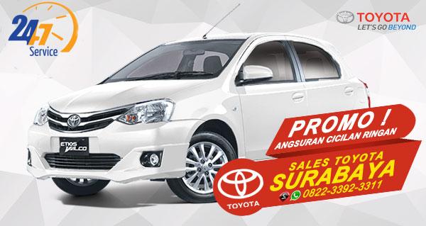 Promo Angsuran Cicilan Ringan Toyota Etios Valco Surabaya