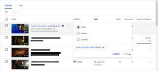 Cara Edit Video Youtube Yang Terindeks Copyright