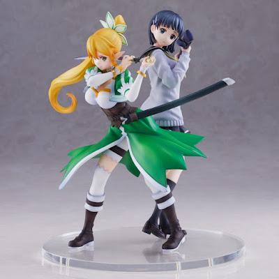 Figuras: Preciosa figura doble de Suguha y Leafa de Sword Art Online - Union Creative