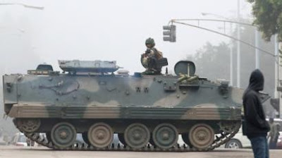 The military takeover in Zimbabwe