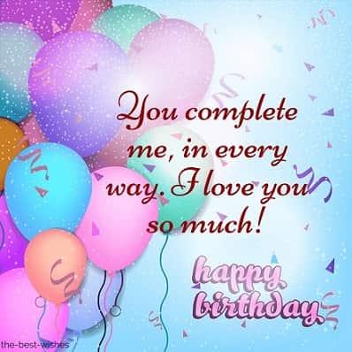 happy birthday wishes for wife far away