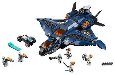 LEGO Super Heroes : Marvel Los Vengadores Endgame | Avengers  76126 Quinjet Definitivo de los Vengadores  Avengers Ultimate Quinjet Producto Oficial Película 2019 | Piezas: 838 | Edad: +8 años COMPRAR ESTE JUGUETE
