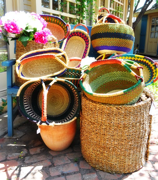 African Woven Baskets: Welcome To Bonnes Amies!: Handmade African Woven Baskets
