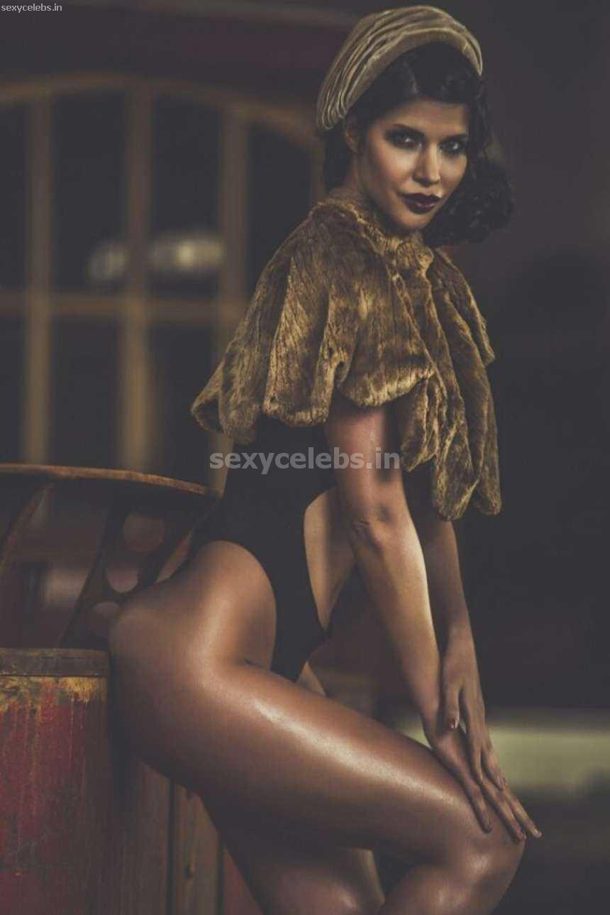 Micaela Schafer wearing black Bra panties for Maik Woll Photoshoot December 2016