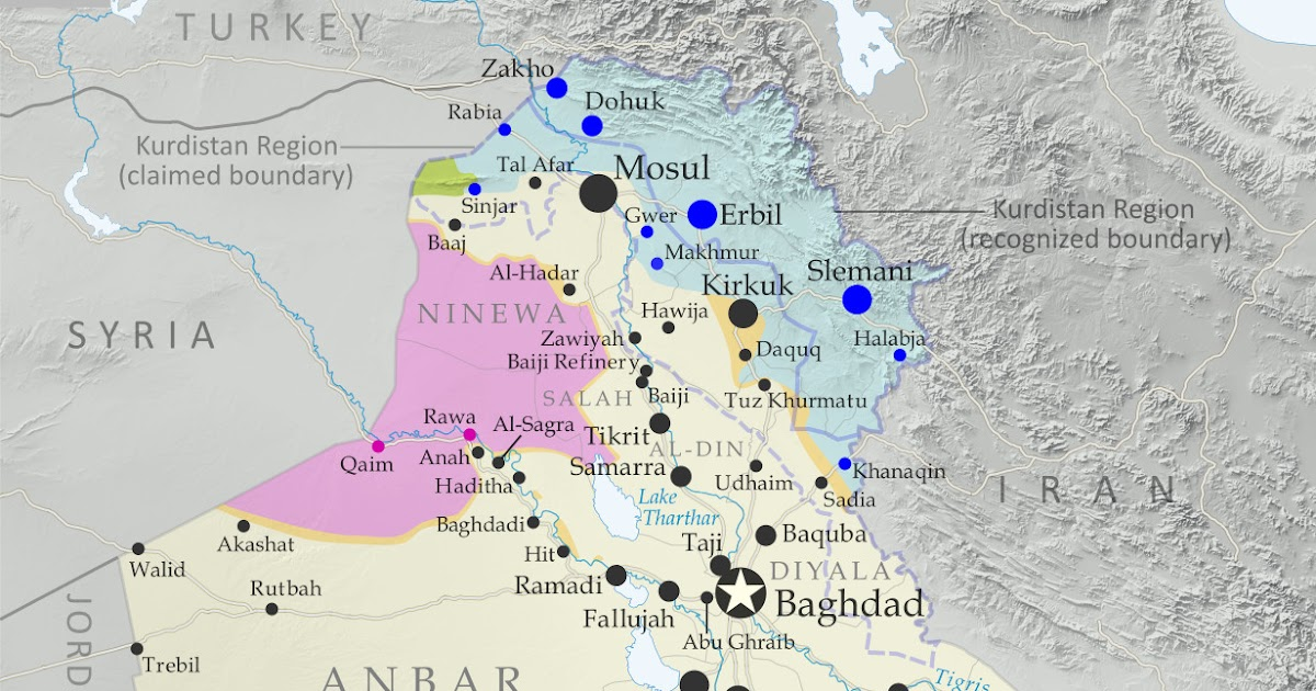 iraq control map timeline government takes kirkuk from kurdistan october 2017 political geography now