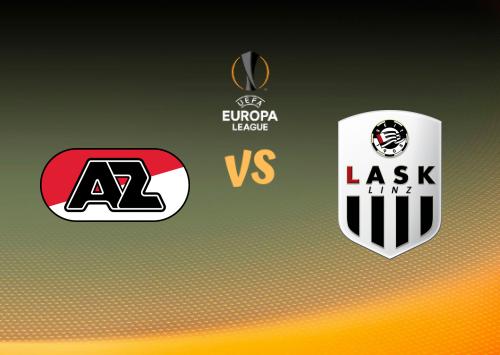 AZ Alkmaar vs LASK Linz  Resumen