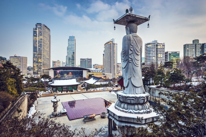 Sightseeing in South Korea