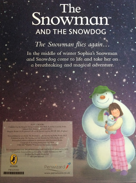 personalised snowman and snowdog personalised book