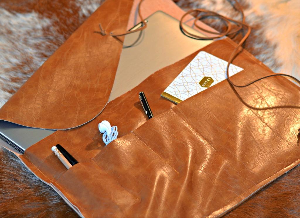 Diy Leather Laptop Sleeve Tutorial