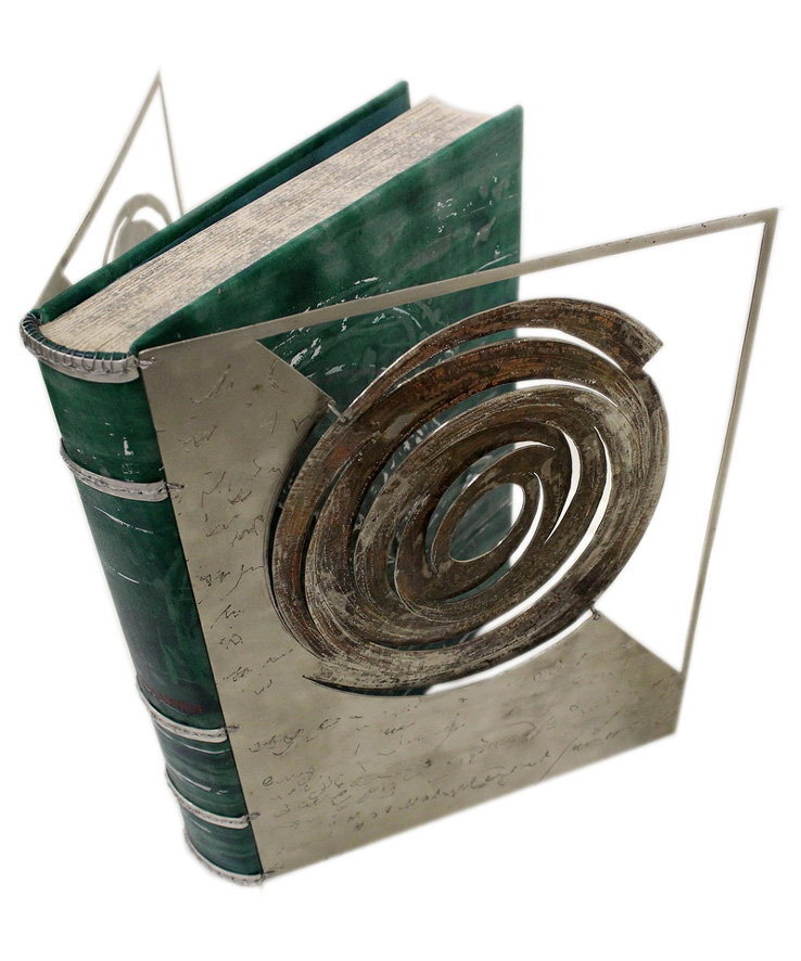 Evangelia Biza Designer Bookbinder, Book Paper Conservator