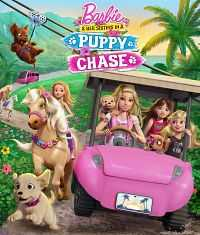 Barbie and Her Sisters in a Puppy Chase (2016) Hindi - Tamil - Eng 300mb BDRip 480p