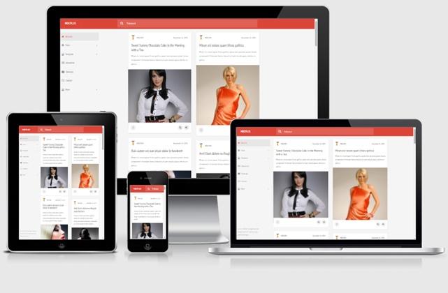 MDCPlus Template Mirip Google Plus Versi Blogspot