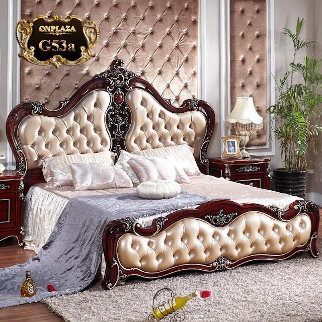 Giường ngủ đẹp phong cách kiểu Pháp G53a