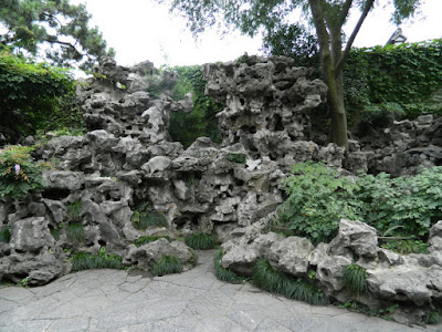 Lingering Garden Suzhou China rockery by garden muses-not another Toronto gardening blog