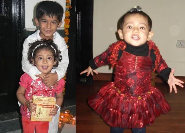 Anantya Anand childhood pic