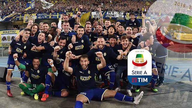 Hellas Verona, Tim Promosi yang Punya Dongeng Indah di Serie A