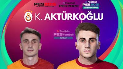 PES 2021 Faces Kerem Aktürkoğlu by PES Football Turkey