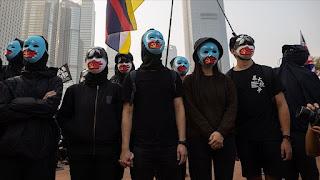 """احتجاجات في هونغ كونغ تضامنا مع مسلمي """"الأويغور"""" في الصين"""