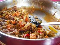 arroz con hongos y calabaza