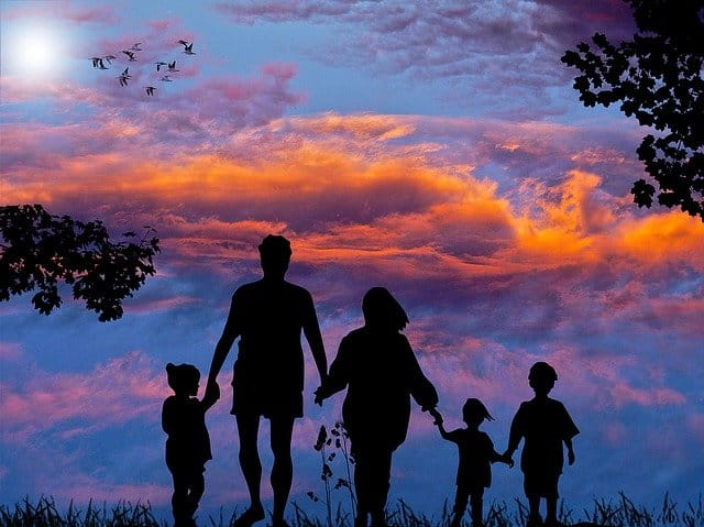 frase viagem família