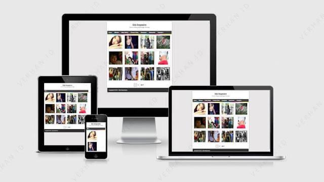 rida responsive blogger template