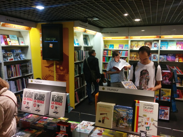 Graphic novels galore at bookstores in Paris