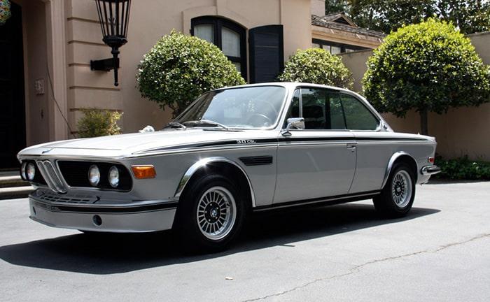 BMW 3.0 CSL одна из успешных в компании БМВ