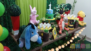 Decoração de festa infantil Ursinho Pooh em Porto Alegre