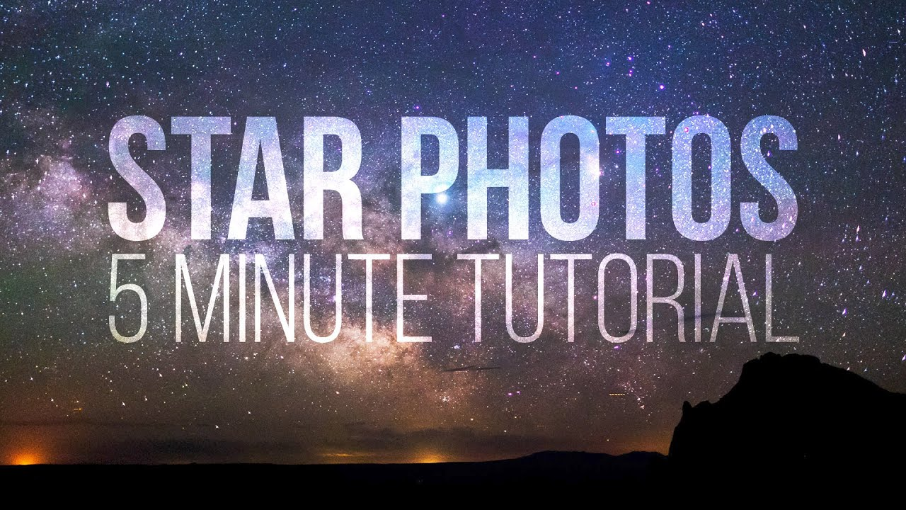 Learn star photography in 5 minutes
