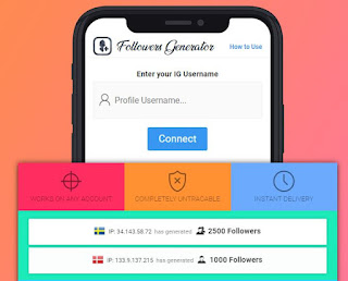 how to get instagram followers using igfamous. me