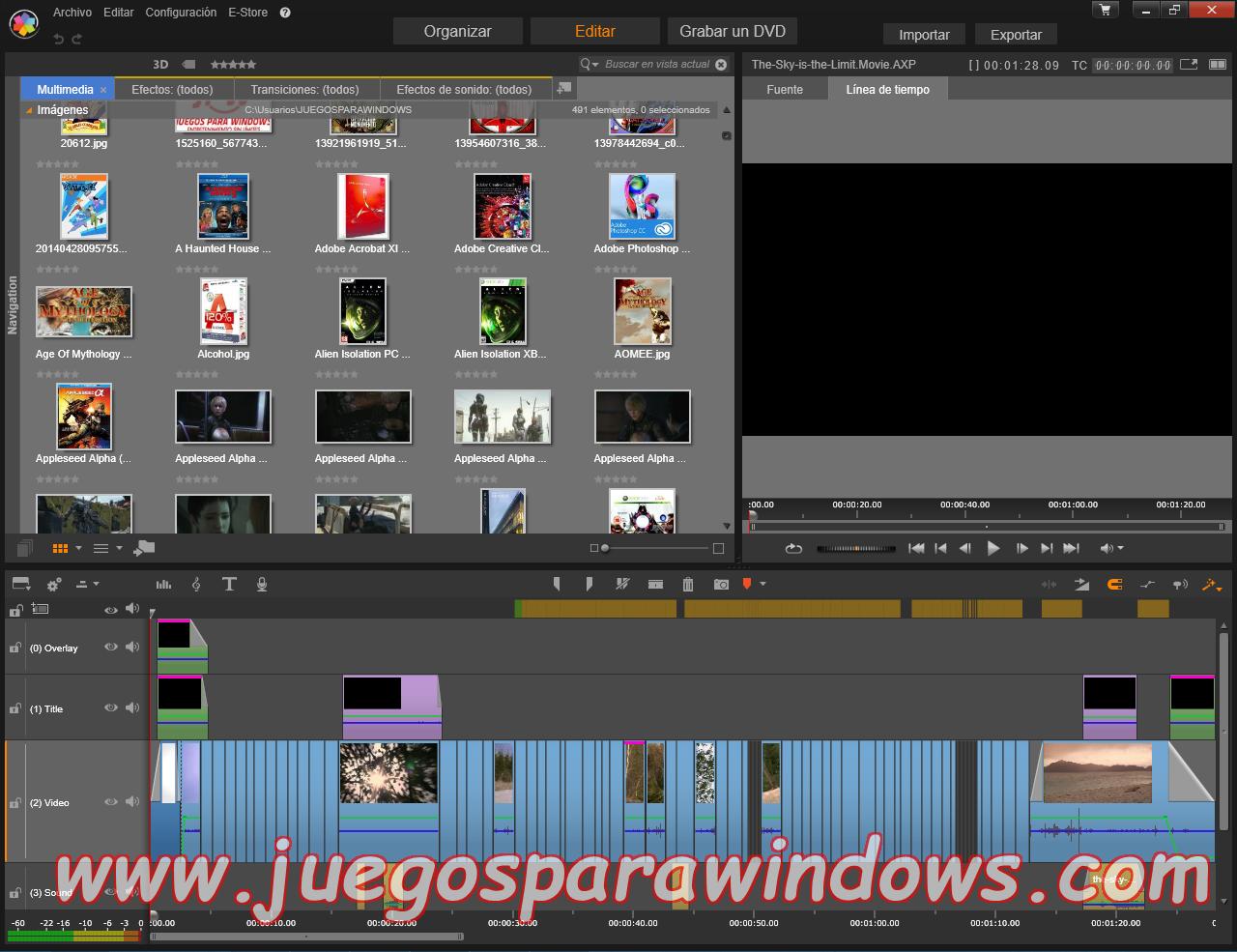 Pinnacle Studio Ultimate v18.0.1 Multilenguaje ESPAÑOL (CORE) 10