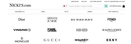 marcas moda infantil Nicki's