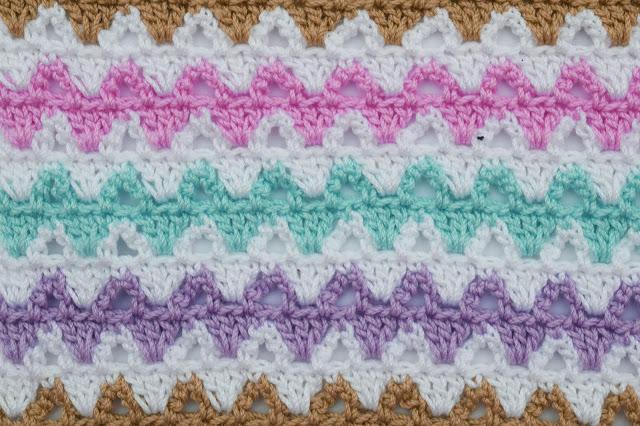2 - Crochet Imagen Puntada a colores a crochet y ganchillo por Majovel crochet