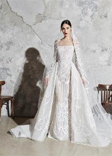 فساتين زفاف 2020 لأشهر مصممين الازياء