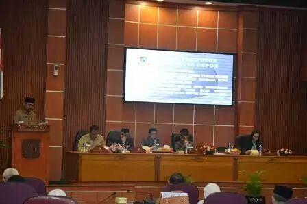 Pandangan Umum Fraksi DPRD Depok Terhadap Nota Keuangan dan RAPBD 2018