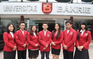 Biaya Kuliah Kelas Karyawan Universitas Bakrie Jakarta Tahun 2020-2021