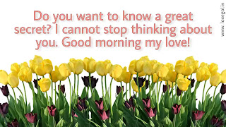good morning quotes for crush