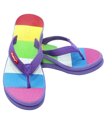 Jual sandal pretty pelangi
