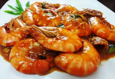 Udang asam manis, resep seafood, wisata kuliner, resep udang asam manis, ikan laut