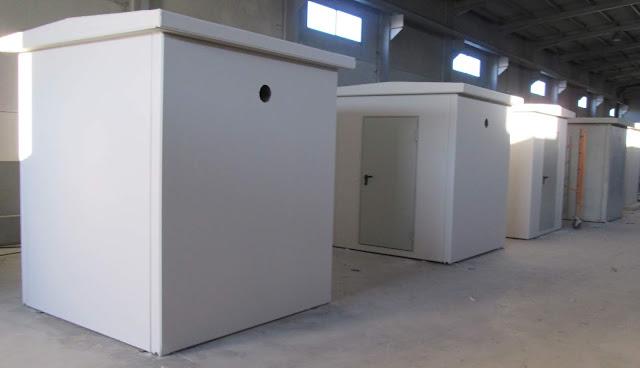 imagen de la fabricación de casetas hormigón en serie