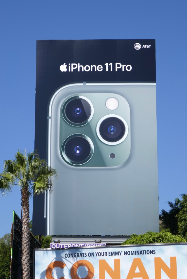 Daily Billboard: Apple iPhone 11 Pro billboards ...