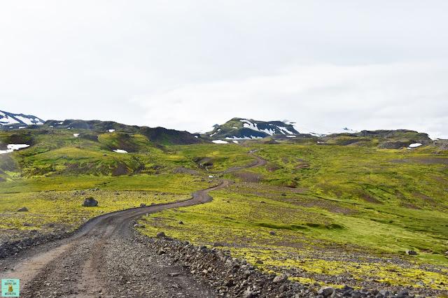 Carretera F570 en el Parque Nacional de Snaefellsjökull