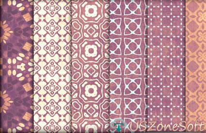 Playful Lavender Peach Photoshop Patterns Beautiful Stylish personal commercial business premium design .pat or .zip file free download