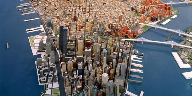 Tv Series Mr Robot Features Diorama Of New York Diorama