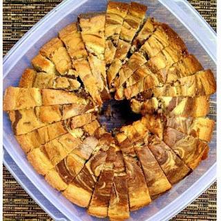 Resep Membuat Marmer Cake Pisang Spesial