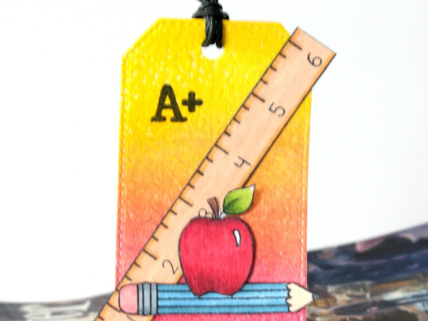 Another Look: School Days - Magnetic Book Mark