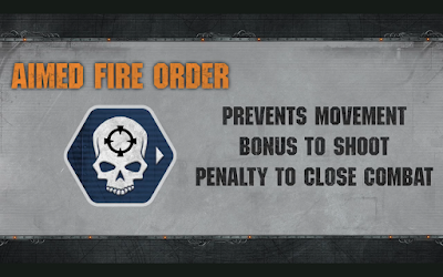 Aimed Fire Order Warhammer 40,000 Apocalypse-
