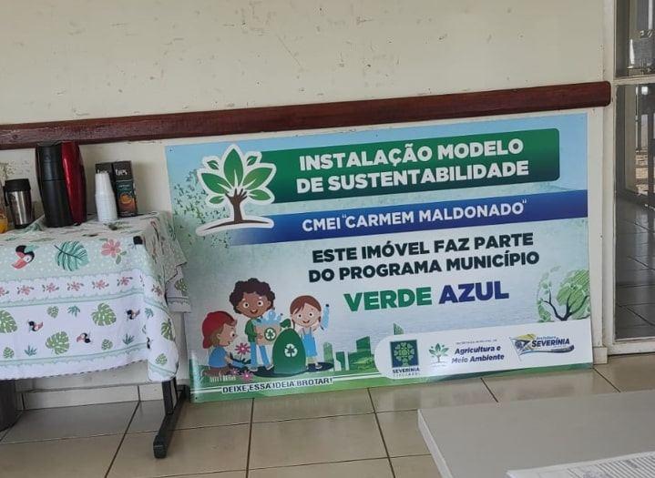 Severínia desenvolve ações de visitações em prédio modelo de sustentabilidade